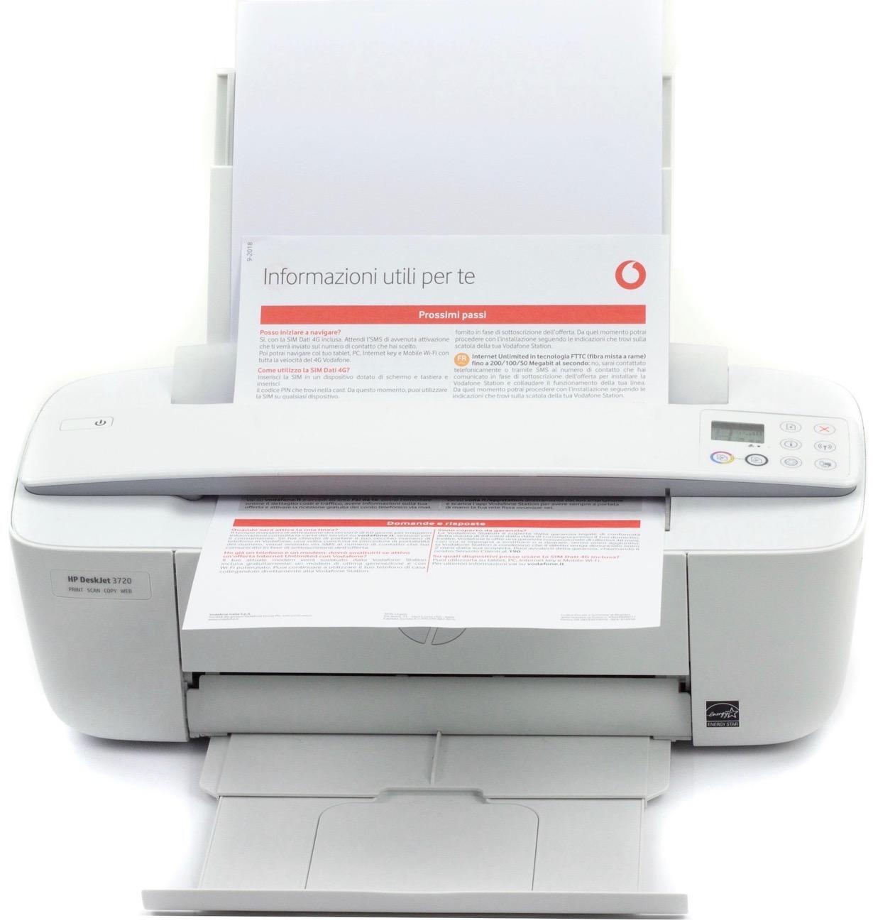 HP DeskJet 3750 scanner
