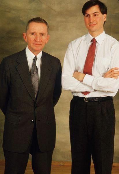 Ross Perot Steve Jobs