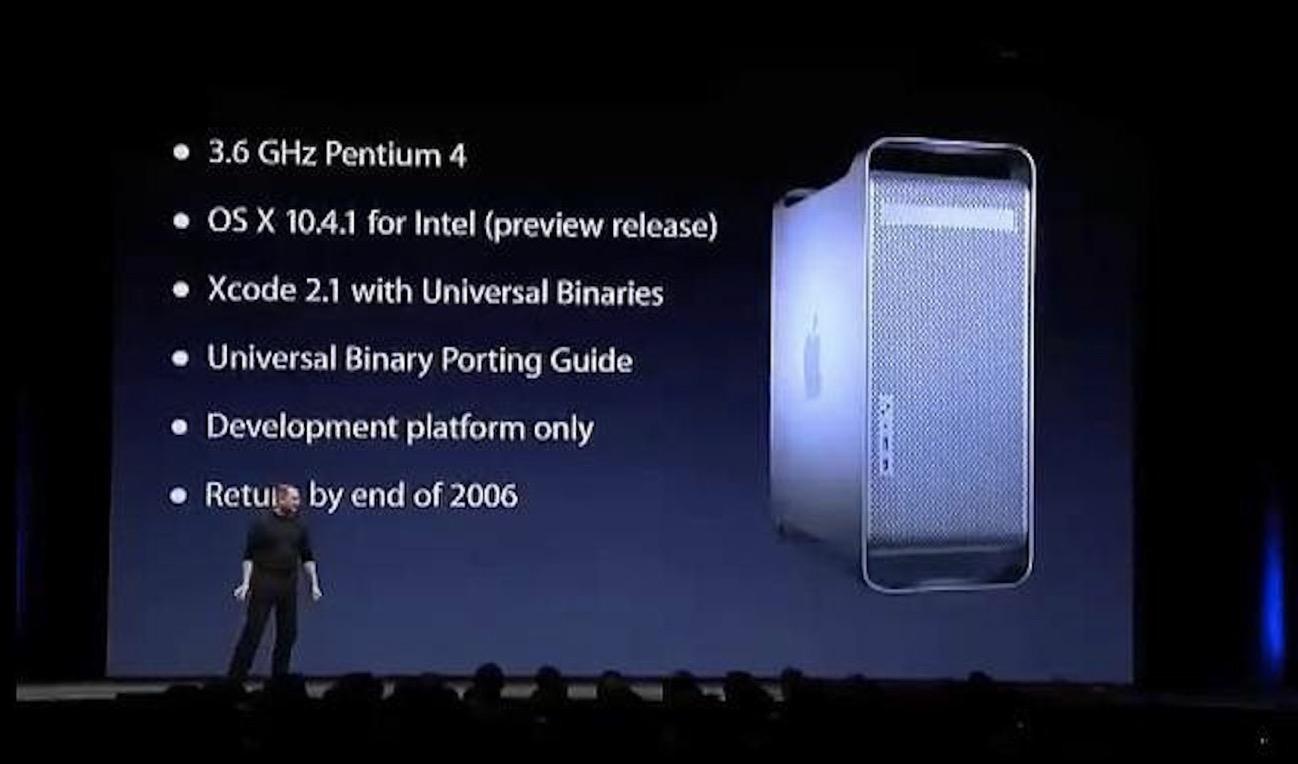Apple Deveolper Kit Intel