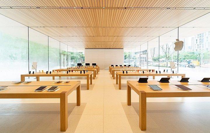 Apple Store Xinyi A13 tavoli