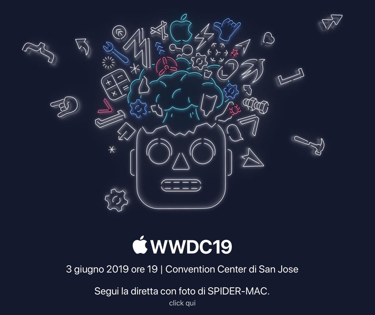 Diretta WWDC 2019 Spider Mac