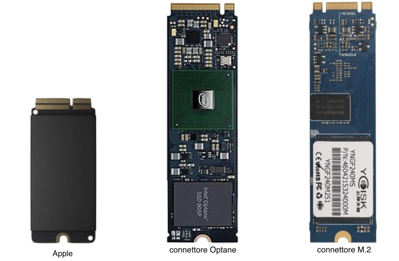 Mac Pro connettore SSD