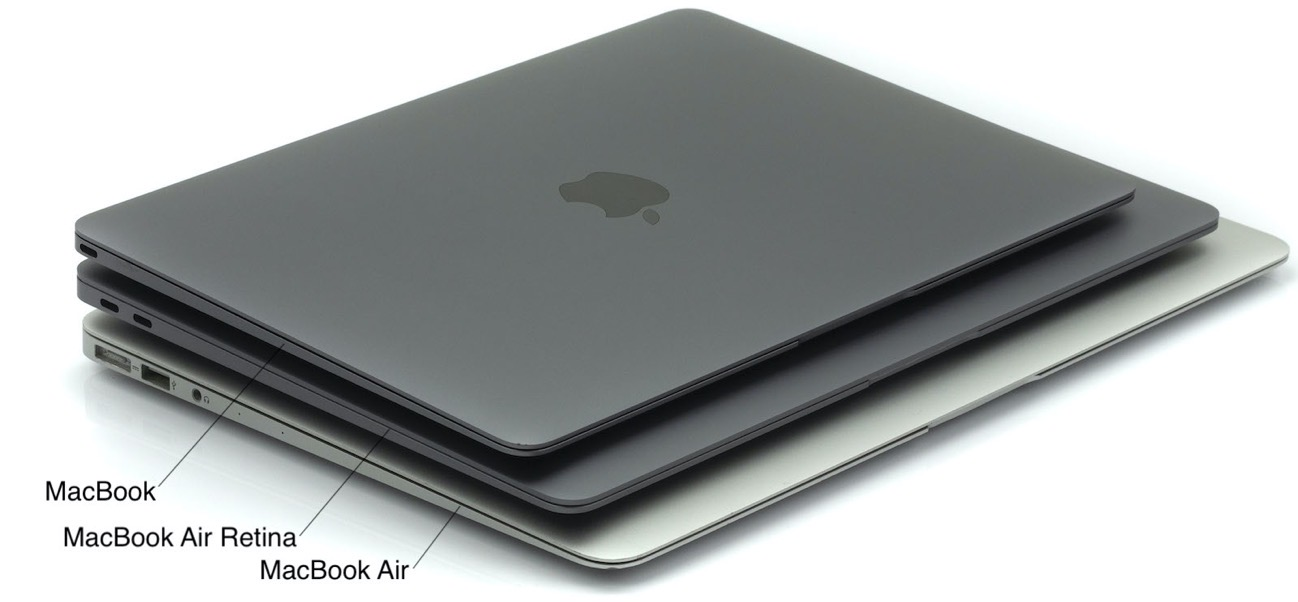 MacBook Air confronto