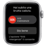 Nonna tecnologica salvata del rilevamento cadute dell'Apple Watch