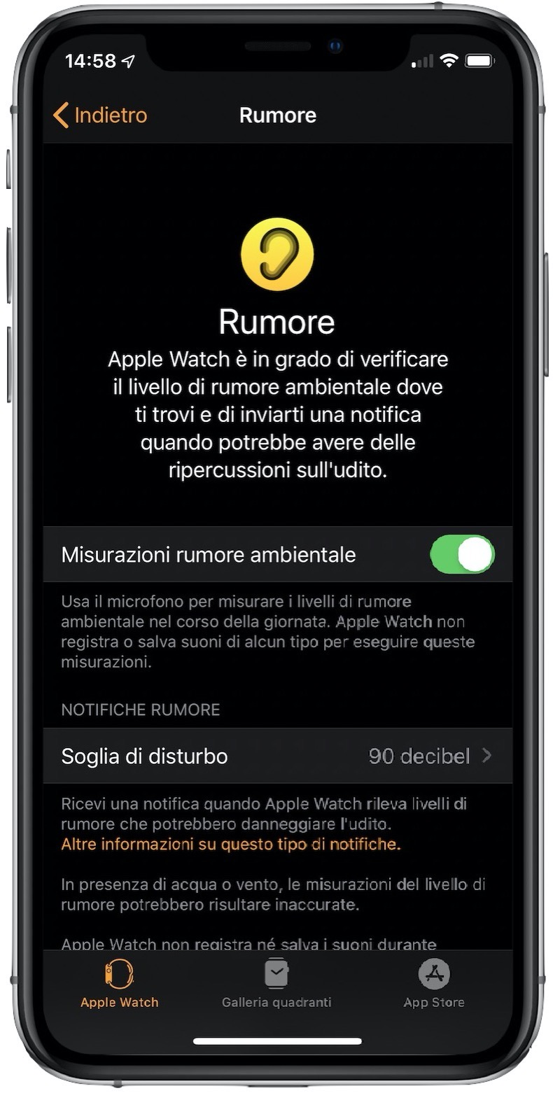 Rumore Apple Watch