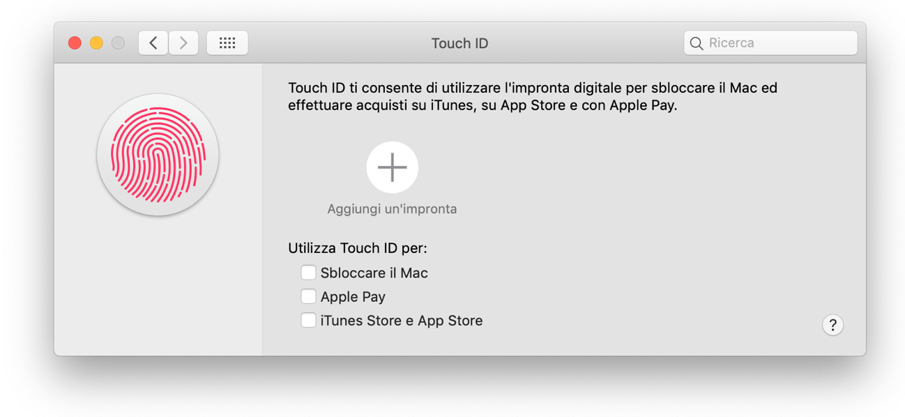 Touch ID MacBook Air