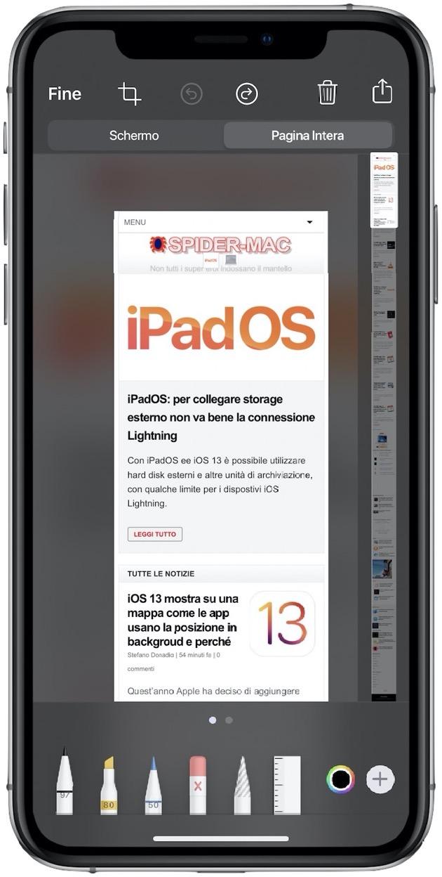 IOS pagina intera PDF