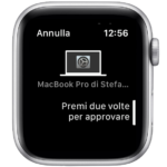 No Touch ID su Mac? Password e installazioni si autorizzano da Apple Watch