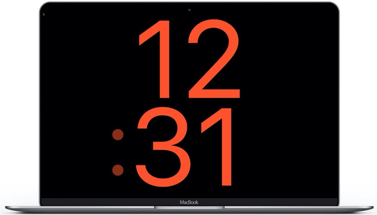 Apple Watch screensaver X large