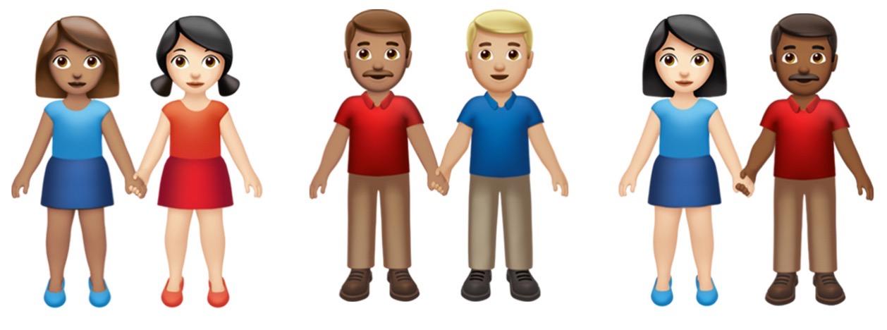 Apple Emoji Day Gender Holding Hands 071619