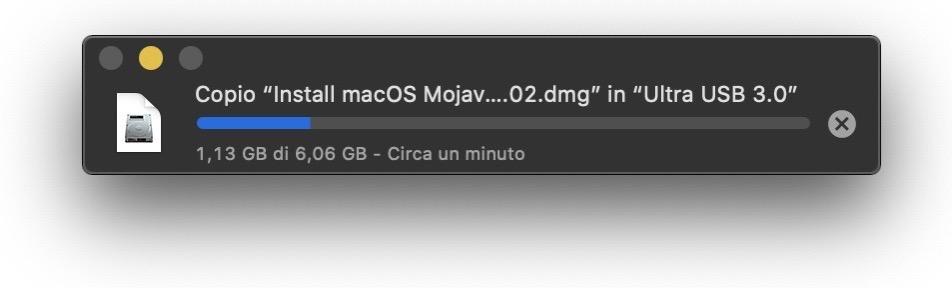 Copia file mac