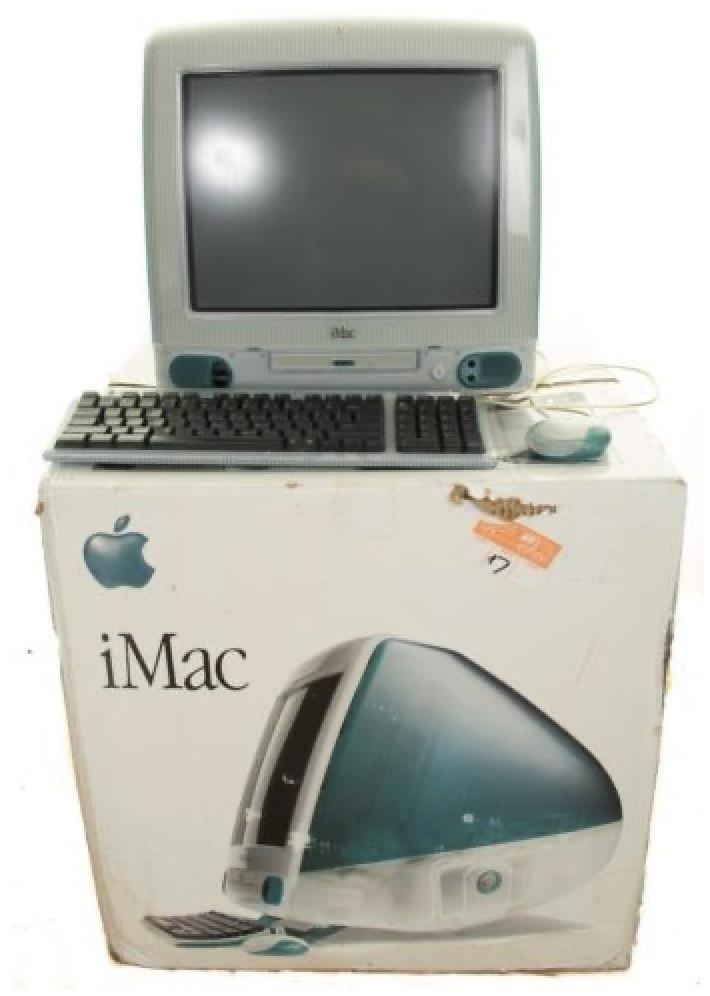 IMac G3 scatola