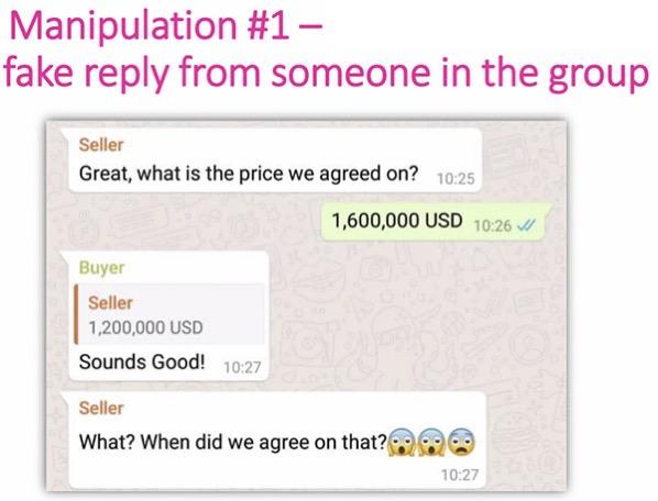 Manipolazione whatsapp 1