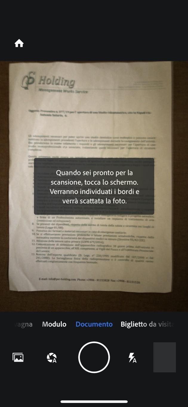 Adobe Scan iOS 01