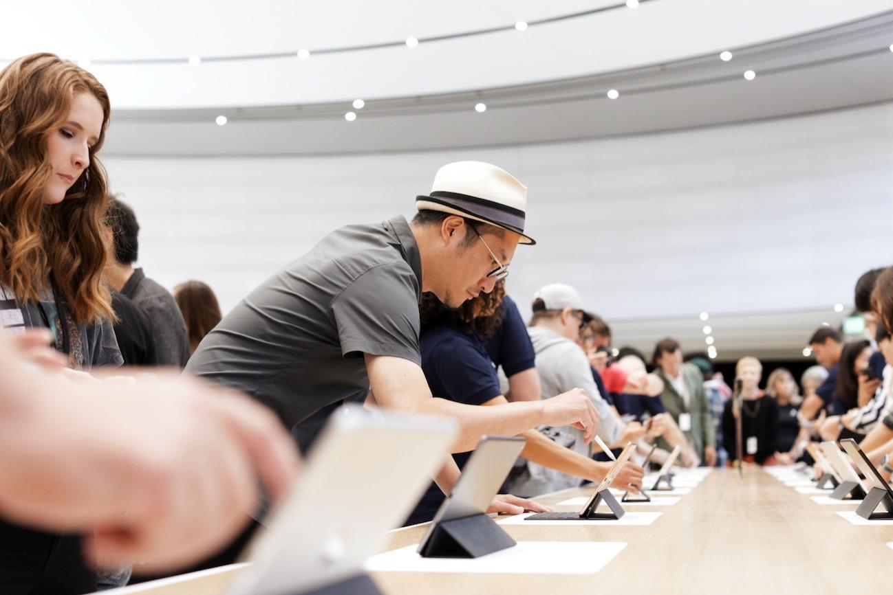 Apple Keynote Event Guests iPad 091019