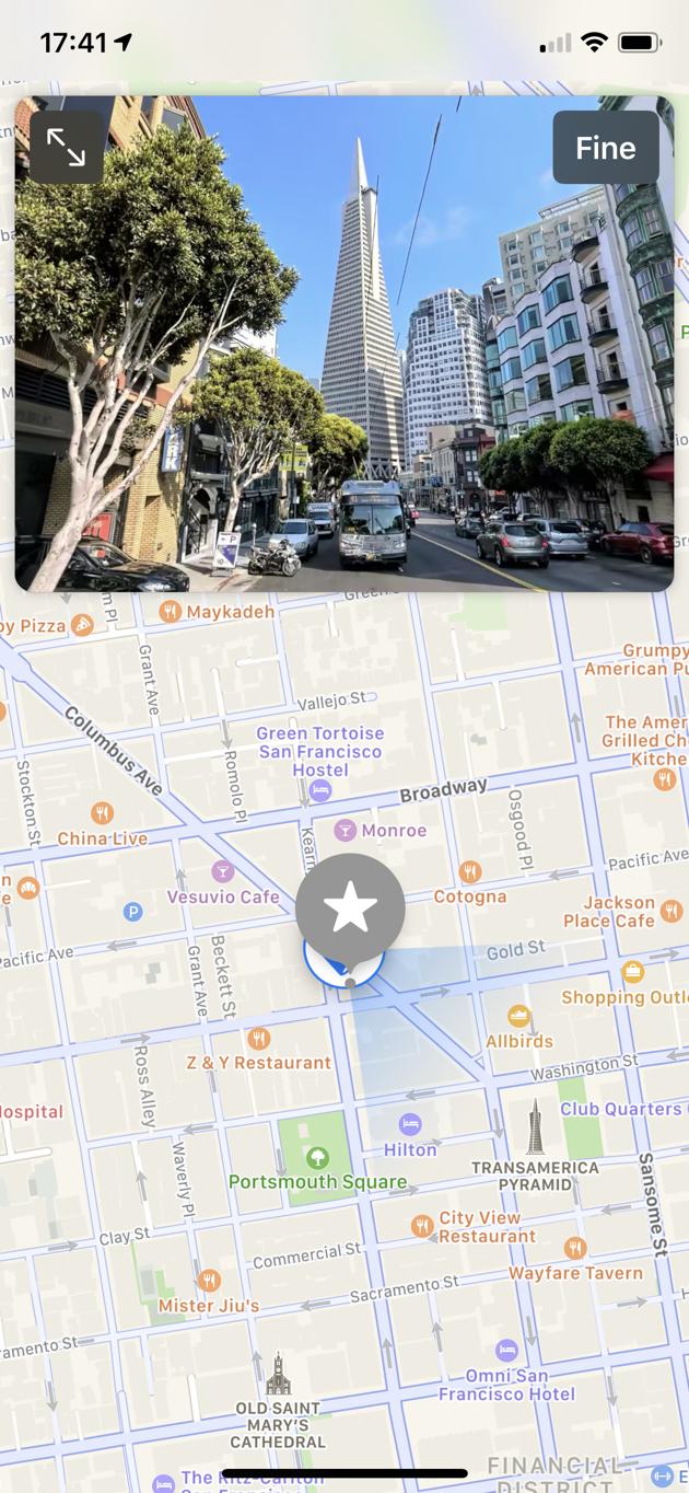 Look around Mappe iOS 13