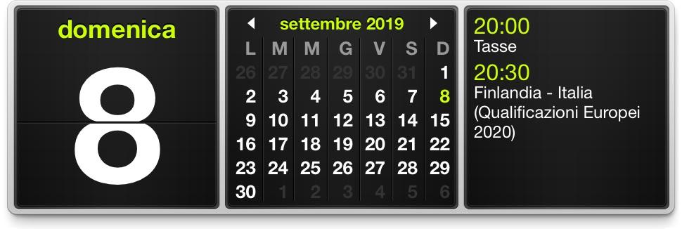 Gadget Calendario.Indispensabili Monthlycal Widget Per Mac Utile A Chi Fa Un