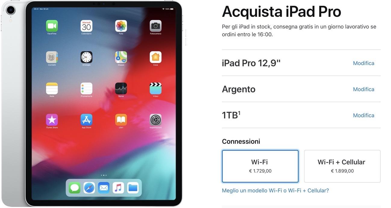 IPad Pro 13 1TB