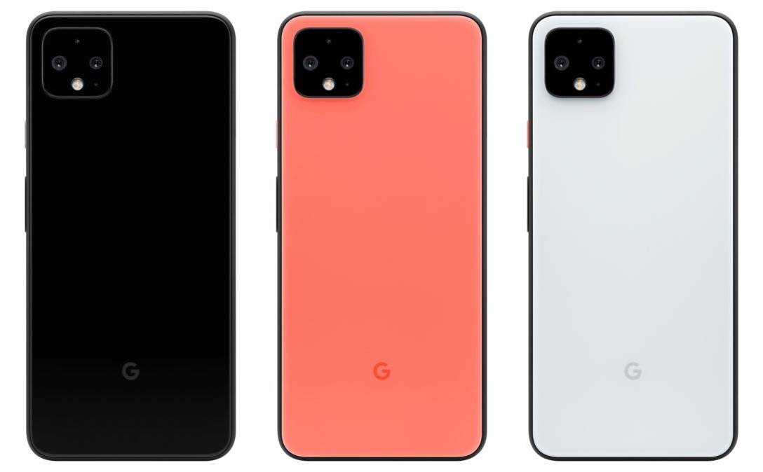 Google Pixel 4 xl all colors just black clearly white oh so orange 1091x675