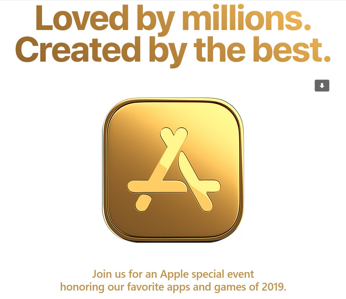 Apple Event app 2019