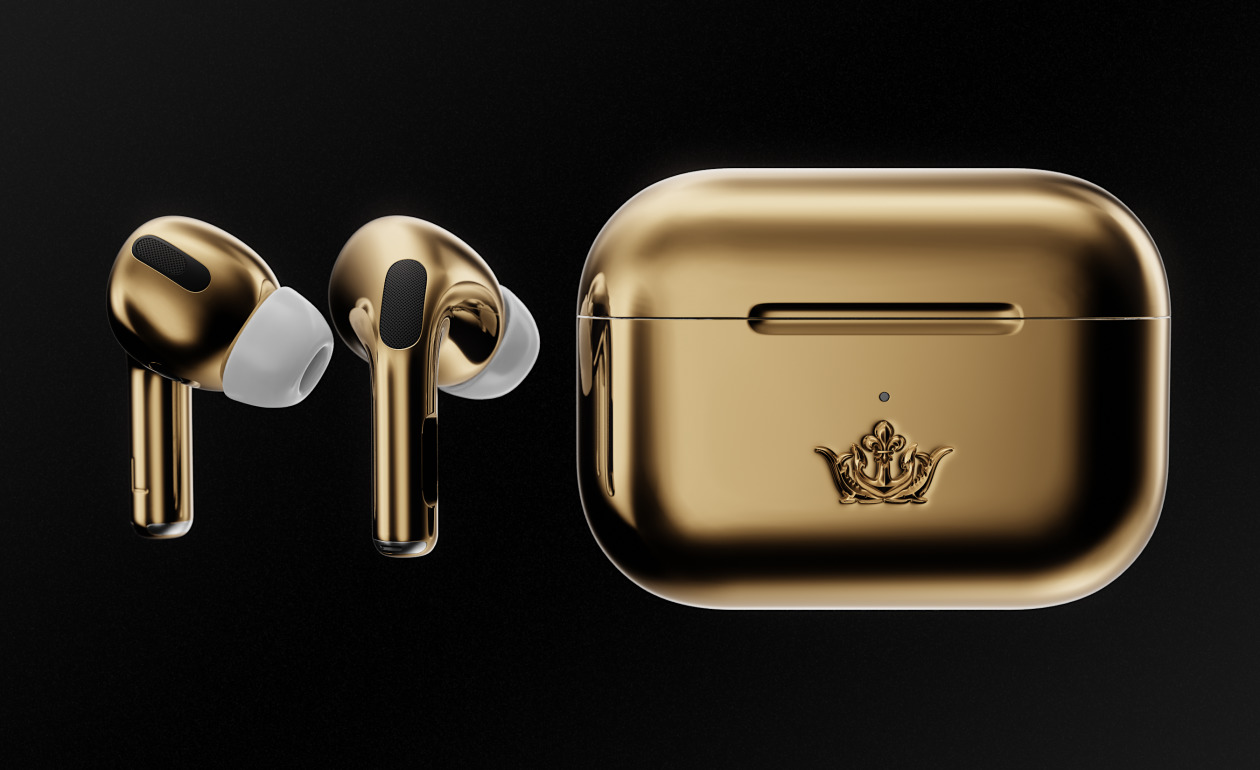 Caviar airpods pro gold photo1 a