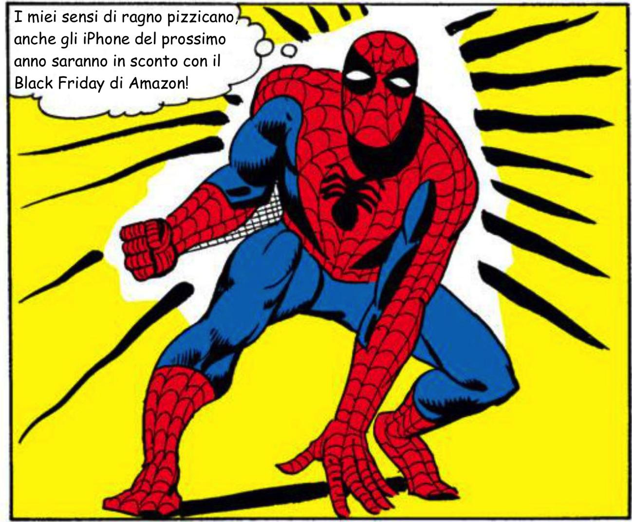 Spider sense iphone